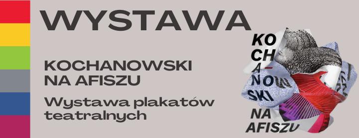 Kochanowski na afiszu. Wystawa plakatów teatralnych