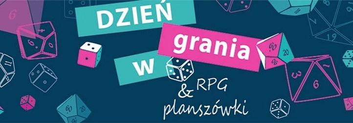 Dzień Grania w gry RPG i planszówki