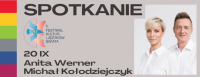 Spotkanie z Anitą Werner i Michałem Kołodziejczykiem
