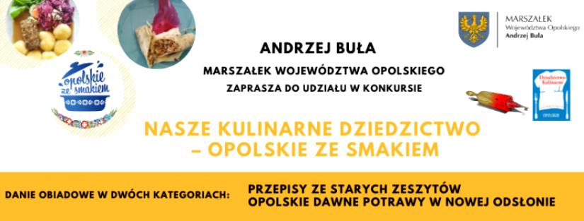 Konkurs Nasze Kulinarne Dziedzictwo Opolskie ze smakiem